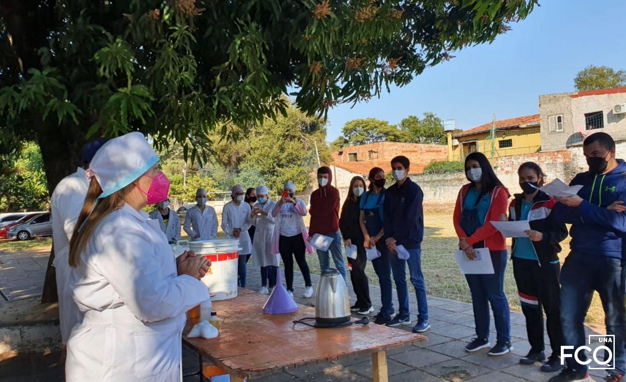 Proyecto de Elaboración de Domisanitarios – Colegio Salesiano Santa Ana