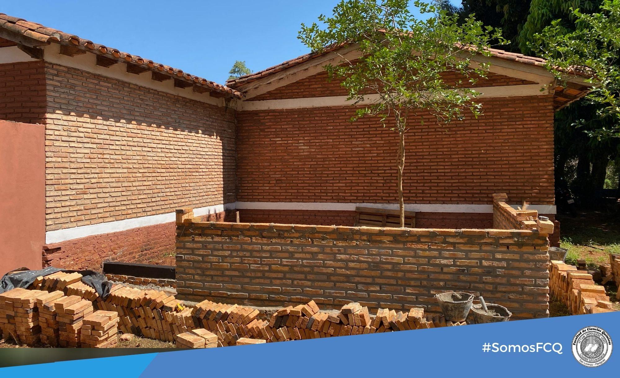 Obras de adecuación edilicia, Proyecto PINV18-1648 – CONACYT