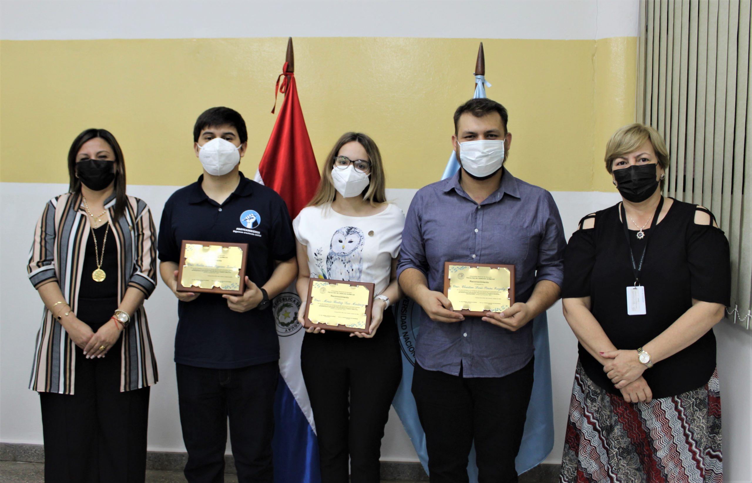 FCQ entrega reconocimiento a Consejeros Estudiantiles, periodo 2018-2021
